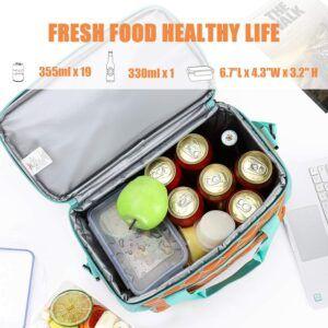 非常适合手提的冷藏保温箱 MIER 18L Large Soft Cooler Insulated Picnic Bag