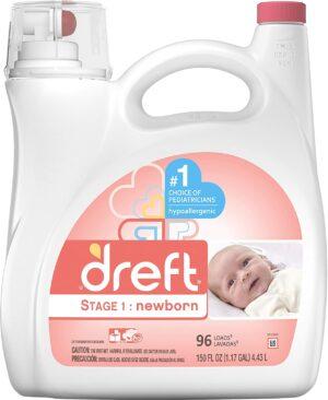 给宝宝洗衣服用的洗衣液 Baby Laundry Detergent