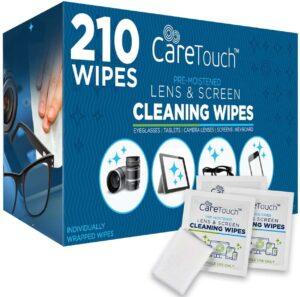 清洁镜片用的一次性湿巾 Care Touch Lens Cleaning Wipes