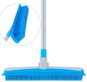专门用来清理地毯上宠物毛的橡胶扫帚 MR.SIGA Soft Bristle Rubber Broom