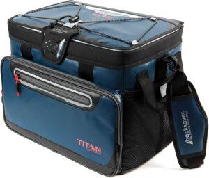 重量轻适合携带的冷藏保温箱 Titan Deep Freeze Zipperless Hardbody Cooler