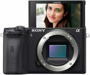 适合有摄像基础者使用的专业Vlog相机 Sony A6600