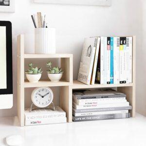 办公用的小书架可以帮你保持桌面整洁