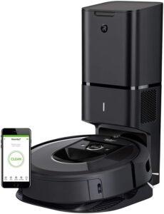 带自动污垢处理的扫地机器人 iRobot Roomba i7+