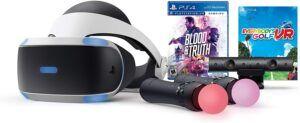 最好的控制台VR眼镜 PlayStation VR