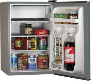 最适合办公使用的迷你小冰箱 BLACK+DECKER BCRK25B Compact Mini Fridge with Freezer 2.5 CU.FT