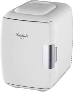 最小巧可爱的迷你小冰箱 Cooluli Mini Fridge Electric Cooler and Warmer