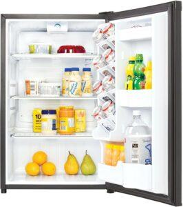 最适合家庭使用的迷你小冰箱 Danby DAR044A4BDD-6 Designer 4.4 Cubic Foot Mini Fridge