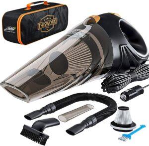 评价最高的便携式车载手持吸尘器 Portable Car Vacuum Cleaner ( 需接电源线 )