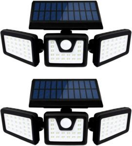 Otdair Waterproof Rotatable 70 LED Security Lights