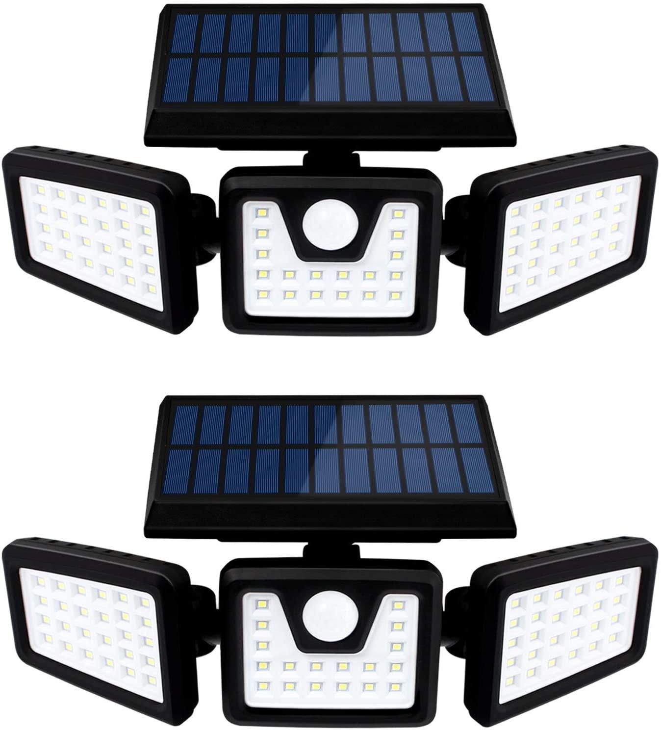 Otdair Waterproof Rotatable 70 LED Security Lights