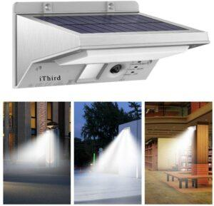 iThird Solar Security Light