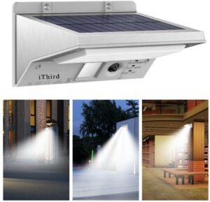 iThird Solar Security Light