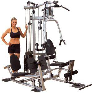 最佳中档价位家用健身器材 Body-Solid Powerline P2LPX Home Gym Equipment