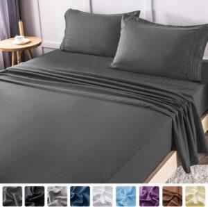 柔软的被罩 LIANLAM King Bed Sheets Set