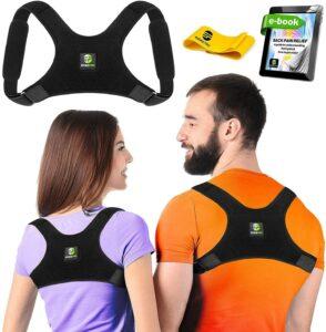 Evoke Pro Back Posture Corrector for Women and Men姿势矫正器