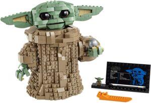 乐高星球大战-曼达洛人儿童拼装套件 LEGO Star Wars The Mandalorian The Child 75318 Building Kit