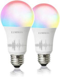 亚马逊最畅销的一款智能灯泡:LUMIMAN Smart WiFi Light Bulb