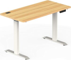 价格非常实惠的升降电脑桌 SHW Electric Height Adjustable Computer Desk