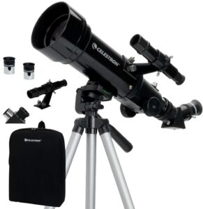 便携式望远镜:Celestron - 70mm Travel Scope - Portable Refractor Telescope