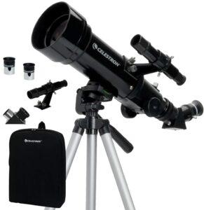 便携式望远镜:Celestron - 70mm Travel Scope - Portable Refractor Telescope