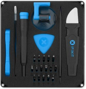 修理电脑或手机用的工具箱 iFixit Essential Electronics Toolkit - Compact Computer and Smartphone Toolkit