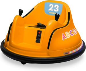 儿童碰碰车玩具 Kidzone 12V 2 Speed Bluetooth Music Kids Toy Electric Ride On Bumper Car
