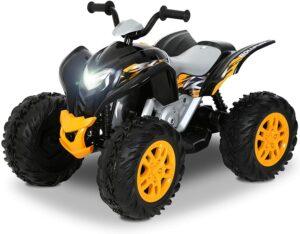 儿童ATV赛车 Rollplay 12V Powersport ATV Quad Battery-Powered Ride-On Toy