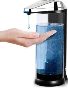 全自动智能感应洗手液机 Touchless Battery Operated Electric Automatic Soap Dispenser