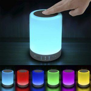 具有蓝牙音箱的床头灯 Elecstars Touch Bedside Lamp