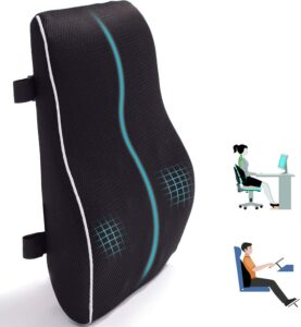 办公椅的腰部支撑枕 Lumbar Support Pillow for Office Chair