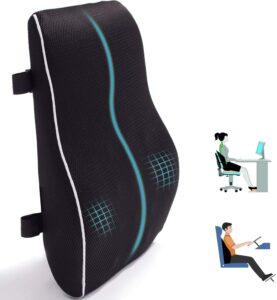 办公椅的腰部支撑枕 Lumbar Support Pillow for Office Chair