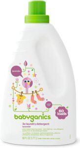 北美宝宝洗衣液推荐Babyganics 3X Baby Laundry Detergent