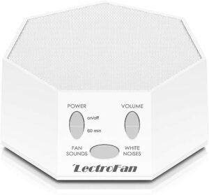 可以帮助睡眠产生白噪音的机器 Adaptive Sound Technologies LectroFan High Fidelity White Noise Sound Machine with 20 Unique Non-Looping Fan and White Noise Sounds and Sleep Timer