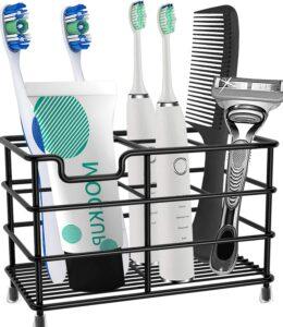 可以归纳牙膏,牙刷,洗面奶等物品的架子:HYRIXDIRECT Toothbrush Holder