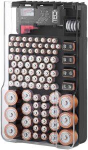 可以放各种型号电池的收纳盒:The Battery Organizer