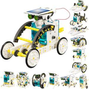 太阳能机器人玩具 STEM 13-in-1 Solar Power Robots Creation Toy