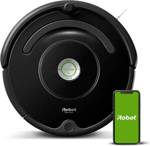 帮你打扫卫生的智能扫地机器人 iRobot Roomba 675 Robot Vacuum-Wi-Fi Connectivity