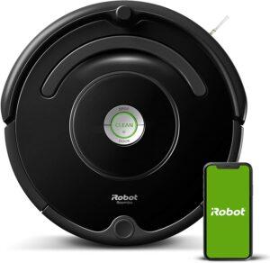 帮你打扫卫生的智能扫地机器人 iRobot Roomba 675 Robot Vacuum-Wi-Fi Connectivity