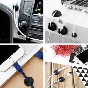 帮你整理归纳电源线,充电器的线,各种电器的电源线或各种类型线的电缆夹:Cable Clips
