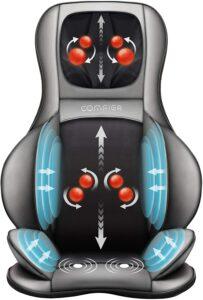 指压式颈部和背部按摩椅垫 Comfier Neck & Back Massager Chair Pad