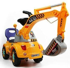 挖掘机踏板车玩具 Digger Scooter Ride-on Excavator