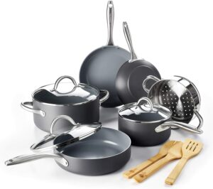 最佳陶瓷锅烹饪套装:GreenPan Lima Ceramic Non-Stick Cookware Set