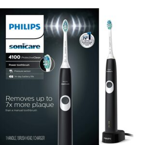 最超值的一款电动牙刷 Philips Sonicare ProtectiveClean 4100 Rechargeable Electric Toothbrush