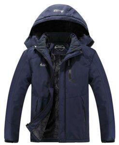 男士防水冬季保暖滑雪外套 MOERDENG Men's Waterproof Ski Jacket