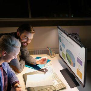 看电脑时保护眼睛的护眼显示器照明灯 BenQ ScreenBar e-Reading LED Task Lamp
