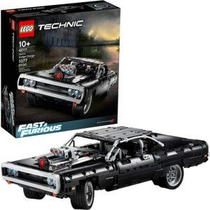 经典肌肉车LEGO模型 LEGO Technic Fast & Furious Dom's Dodge Charger Race Car Building Set