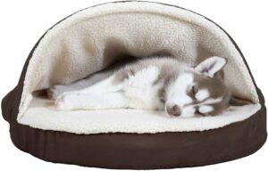 给宠物狗睡觉的床 Furhaven Pet Dog Bed
