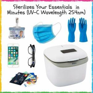 给物品消毒用的紫外线杀菌盒 UV Light Sanitizer Box