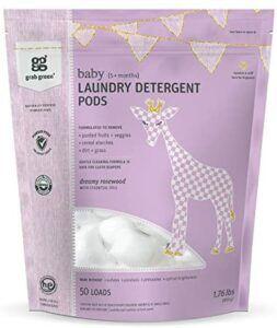 美国宝宝洗衣液推荐Grab Green {Stage 2} Natural Baby Laundry Detergent Pods